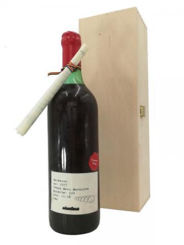 Babeasca Neagra 1987 Banu Maracine, cutie lemn