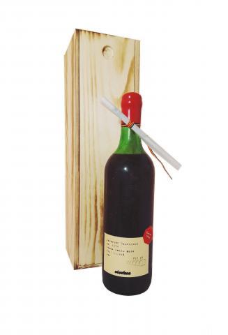 Cabernet Sauvignon 1975 Dealu Mare in cutie de lemn