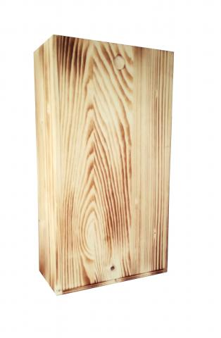 Cutie lemn 2 sticle cod 3