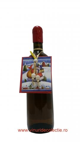 Decoratiune Craciun pentru sticla de vin 003