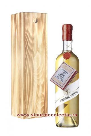 Feteasca Alba Comoara Pivnitei - Odobesti - 1997 cutie lemn