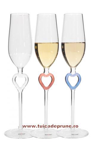 Pahar sampanie pentru nunta