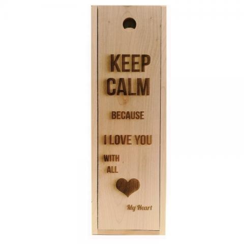 Personalizare cutie keep calm