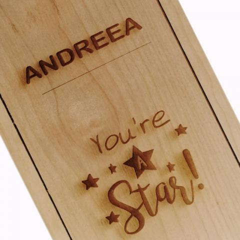 Personalizare cutie You are a star