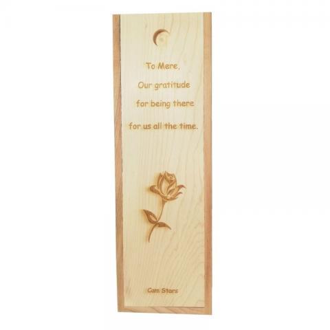 Personalizare cutie trandafir