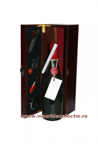 Pinot Gris - Murfatlar - 1991 in Cutie cu accesorii