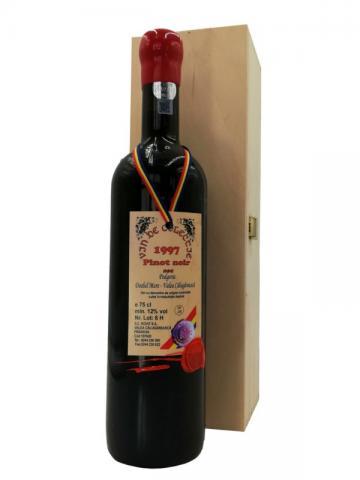 Pinot Noir 1997 Valea Calugareasca in Cutie Lemn