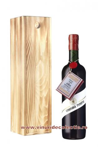 Pinot Noir Comoara Pivnitei - Odobesti - 1993 in cutie de lemn