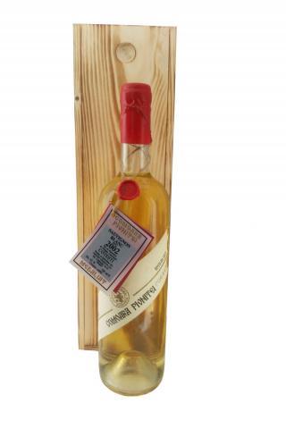Sauvignon Blanc 2002 Comoara Pivnitei in cutie de lemn
