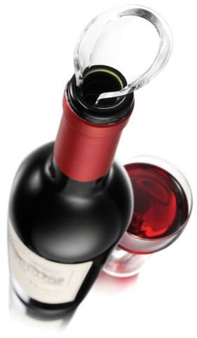Set 2 Antipicuratoare Wine Server Crystal