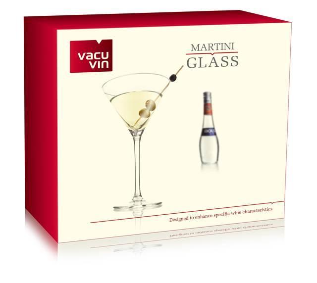 Set 2 pahare Martini VacuVin