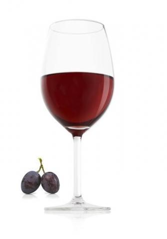 Set 2 pahare vin rosu VacuVin