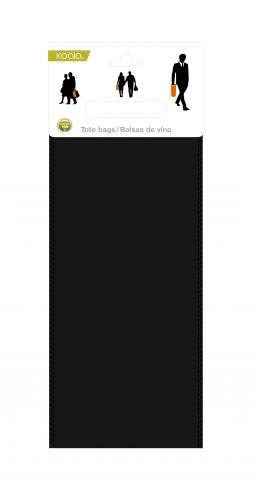 Set 2 pungi negre polipropilena 6201RR01