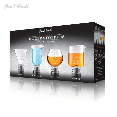 Set 4 masuri bar sticla FTA 7037