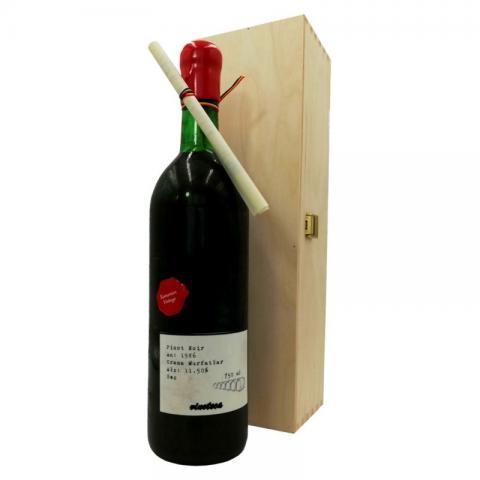Pinot Noir Murfatlar 1986 cutie lemn