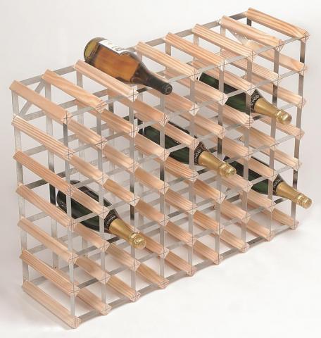 Raft 56 Sticle lemn natur RTA