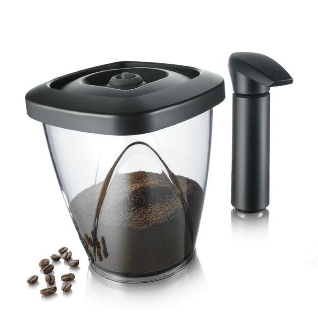 Set cutie cafea cu pompa de vacumat